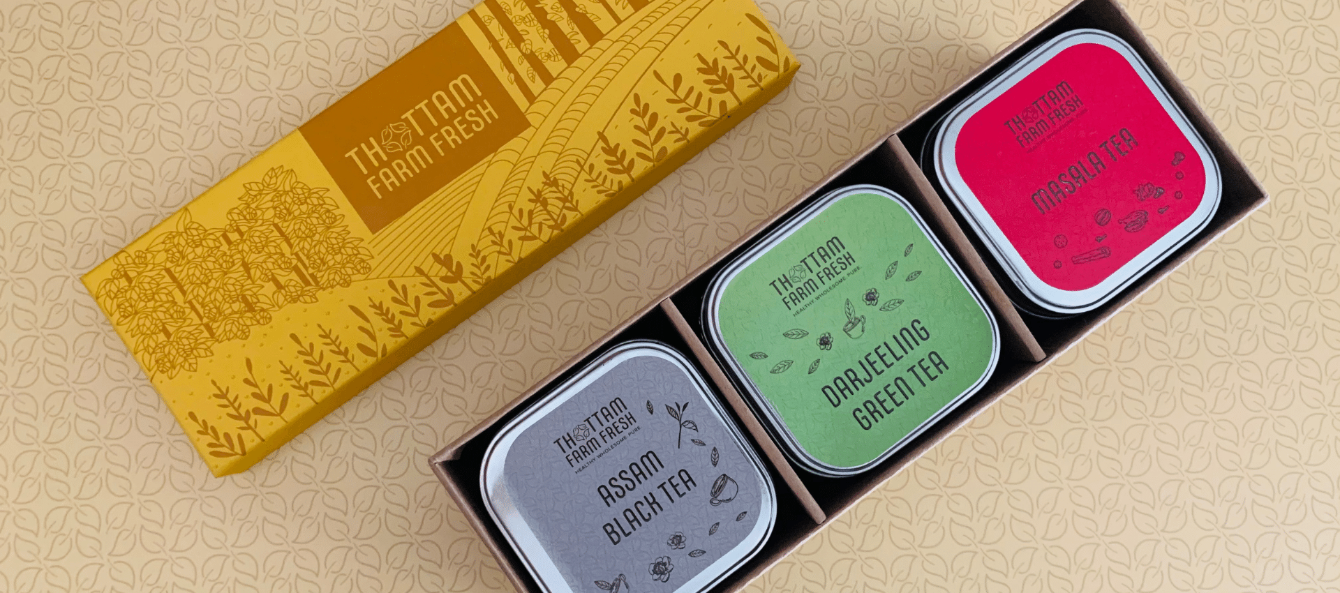 gift box - Spiced Tea Boxes