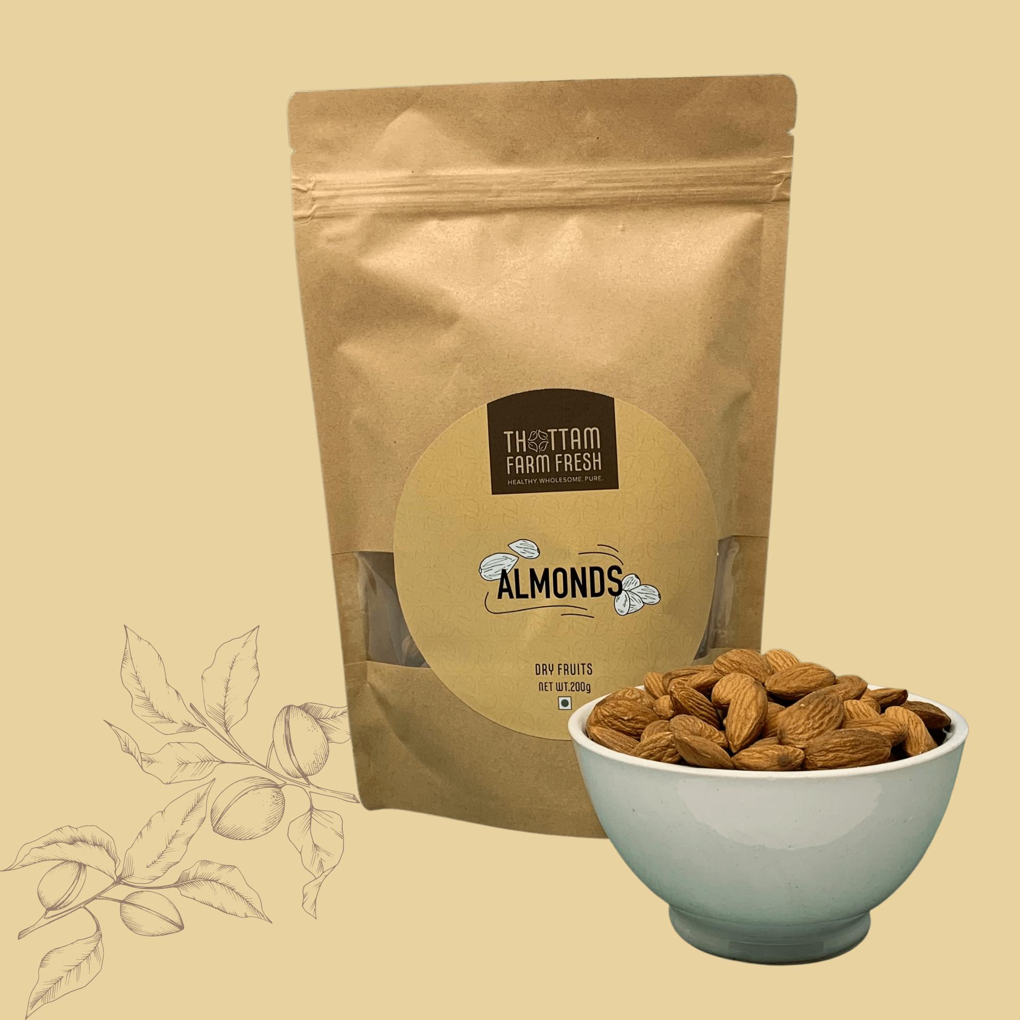 Thottam Farm Fresh Almonds Online