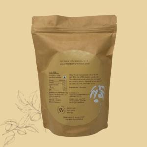 almonds back label