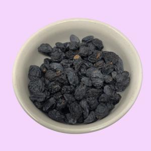 black raisins whole