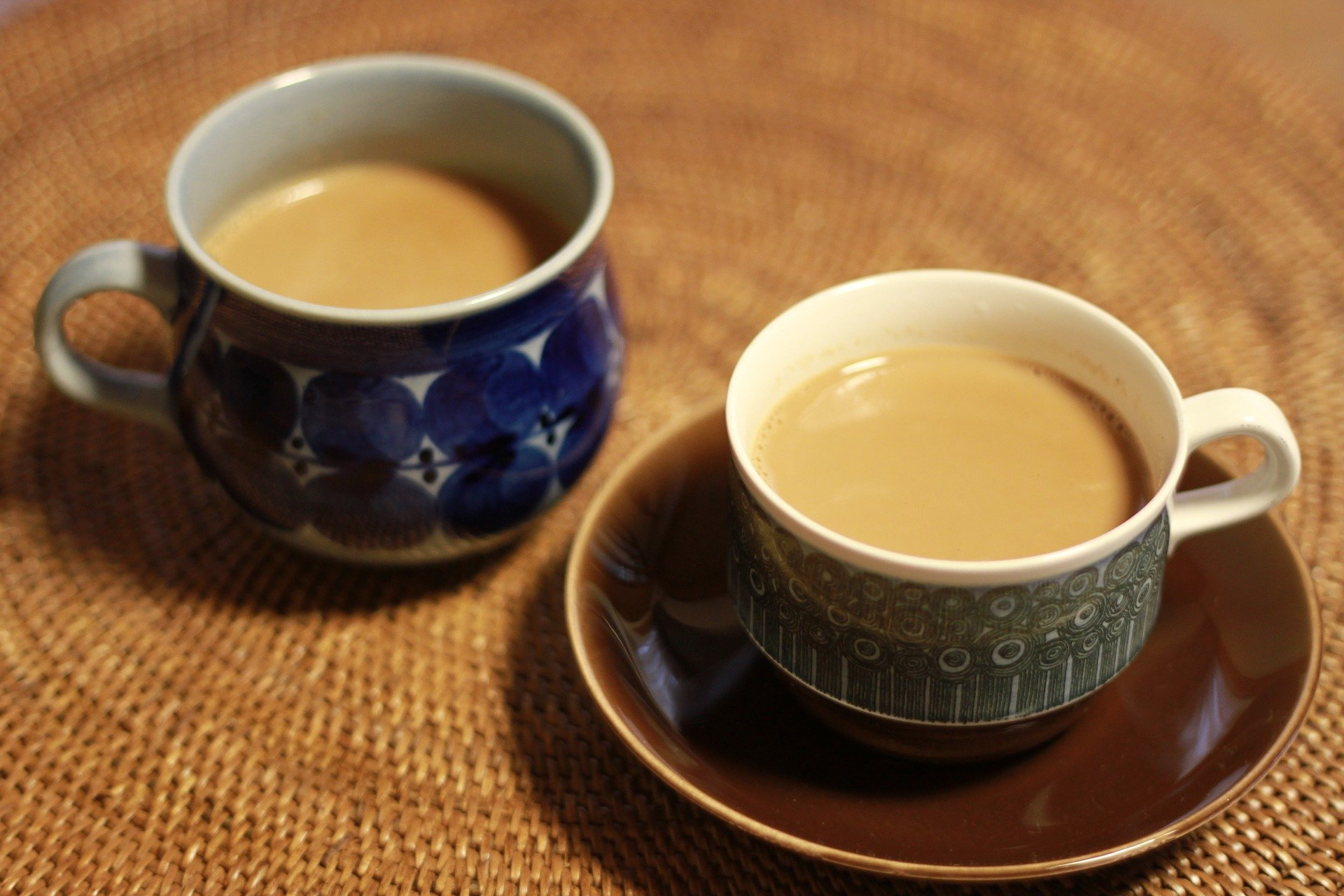 Cups Tea Chai